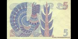Suède - p51d - 5 Kronor - 1977 - Sveriges Riksbank