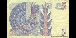 Suède - p51d2 - 5 Kronor - 1981 - Sveriges Riksbank