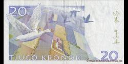 Suède - p63e - 20Kronor - 2007 - Sveriges Riksbank
