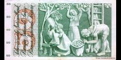 Suisse - p48n2 - 50 Franken / Francs / Franchi - 07.02.1974 - Schweizerische Nationalbank / Banque Nationale Suisse / Banca Na