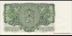 Tchécoslovaquie - p82b - 5Korún Československých - 1961 - Československá Socialistická Republika