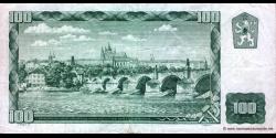Tchécoslovaquie - p91c - 100 Korún Československých - 1961 - Státní Banka Československá