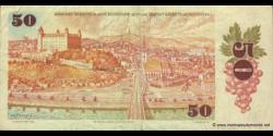 Tchécoslovaquie - p96a - 50 Korún Československých - 1987 - Státní Banka Československá