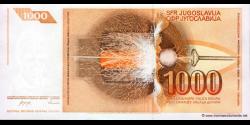 Yougoslavie - p107 - 1.000 Dinara / Dinarjev / Dinari - 26.11.1990 - Narodna Banka Jugoslavije / Narodna Banka na Jugoslavija