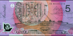 Australie - p51a - 5 Dollars - 1995 - Reserve Bank of Australia