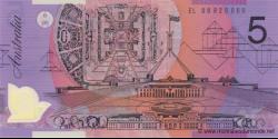Australie - p57f - 5 Dollars - 2008 - Reserve Bank of Australia