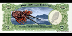 Chatham - Islands - pNL1 - 2 Dollars - 2000 - Chatham Islands Note Corporation