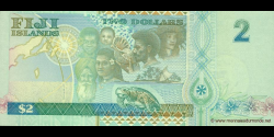 Fidji - p102 - 2 Dollars - 2000 - Reserve Bank of Fiji