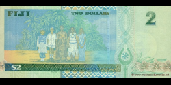 Fidji - p104 - 2 Dollars - ND (2002) - Reserve Bank of Fiji