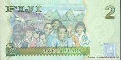 Fidji - p109a - 2 Dollars - ND (2007) - Reserve Bank of Fiji