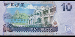 Fidji - p111a - 10 Dollars - ND (2007) - Reserve Bank of Fiji