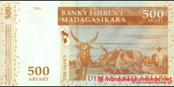 Madagascar - p88a - 500 ariary = 2.500 francs - 2004 - Banky Foiben'i Madagasikara