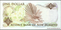 Nouvelle-Zélande - p169b - 1 Dollar - ND (1981 - 1992) - Reserve Bank of New Zealand