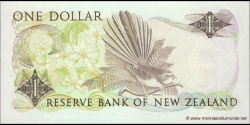 Nouvelle-Zélande - p169c - 1 Dollar - ND (1981 - 1992) - Reserve Bank of New Zealand