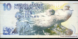 Nouvelle-Zélande - p178b - 10 Dollars - ND (1992) - Reserve Bank of New Zealand