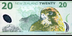 Nouvelle-Zélande - p187b - 20 Dollars - 2004 - Reserve Bank of New Zealand