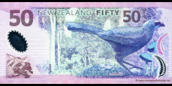 Nouvelle-Zélande - p188a - 50 Dollars - 1999 - Reserve Bank of New Zealand
