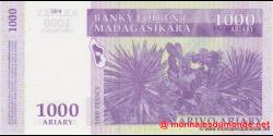 Madagascar - p89b - 1.000 ariary = 5.000 francs - 2004 - Banky Foiben'i Madagasikara