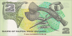 Papouasie-Nouvelle-Guinée - p05c - 2 Kina - ND (1981 - 1991) - Bank of Papua New Guinea