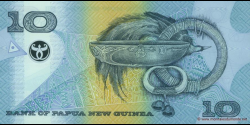 Papouasie-Nouvelle-Guinée - p26b - 10 Kina - 2002 - Bank of Papua New Guinea