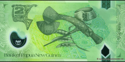 Papouasie-Nouvelle-Guinée - p28a - 2 Kina - 2007 - Bank of Papua New Guinea
