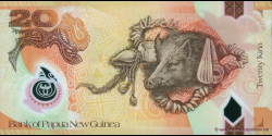 Papouasie-Nouvelle-Guinée - p31a - 20 Kina - 2007 - Bank of Papua New Guinea