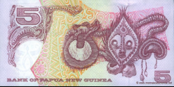 Papouasie-Nouvelle-Guinée - p34 - 5 Kina - 2007 - Bank of Papua New Guinea