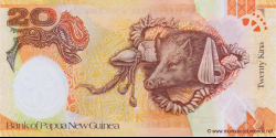 Papouasie-Nouvelle-Guinée - p36 - 20 Kina - 2008 - Bank of Papua New Guinea