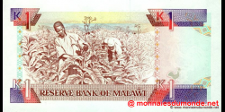 Malawi - p23b - 1 Kwacha - 01.05.1992 - Reserve Bank of Malawi