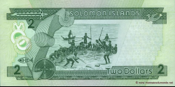 Salomon - p18 - 2 Dollars - ND (1997) - Central Bank of Solomon Islands