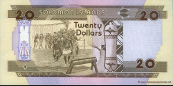 Salomon - p21 - 20 Dollars - ND (1996) - Central Bank of Solomon Islands