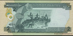 Salomon - p25a - 2 Dollars - ND ( 2006) - Central Bank of Solomon Islands