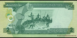 Salomon - p25b - 2 Dollars - ND (2011) - Central Bank of Solomon Islands