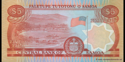 Samoa - p33a1 - 5tala - ND (2002) - Faletupe Tutotonu o Samoa / Central Bank of Samoa
