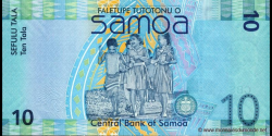 Samoa - p39 - 10tala - ND (2008) - Faletupe Tutotonu o Samoa / Central Bank of Samoa