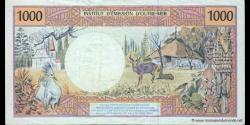 Territoires Français du Pacifique - p02c - 1.000 Francs - ND (1992 - 2013) - Institut d'Emission d'Outre - Mer