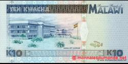 Malawi - p31 - 10 Kwacha - 01.06.1995 - Reserve Bank of Malawi