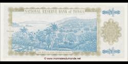 Tonga - p25 - 1 Pa'anga - ND (1992 - 1995) - Pangike Pule Fakafonua 'o Tonga / National Reserve Bank of Tonga