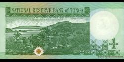 Tonga - p31b - 1 Pa'anga - ND (1995) - Pangike Pule Fakafonua 'o Tonga / National Reserve Bank of Tonga