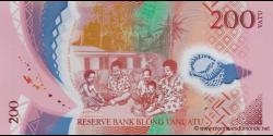 Vanuatu - p14 - 200 Vatu - ND (2014) - Reserve Bank of Vanuatu / Banque de Reserve de Vanuatu / Reserve Bank blong Vanuatu