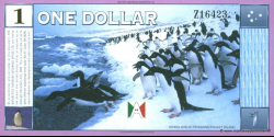 Antarctique - pNL02 - 1 Dollar - 1999 - Antarctica Overseas Exchange Office LTD