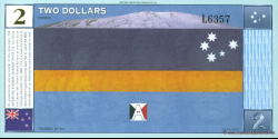 Antarctique - pNL03 - 2 Dollars - 1999 - Antarctica Overseas Exchange Office LTD
