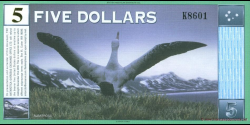 Antarctique - pNL04 - 5 Dollars - 1999 - Antarctica Overseas Exchange Office LTD