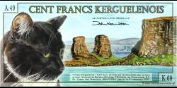 Kerguelen - pNL1 - 100 Francs - 13.02.2010 - Bureau d'Echange d'Outremer de l'Antarctique