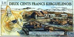 Kerguelen - pNL2 - 200 Francs - 02.01.2012 - Bureau d'Echange d'Outremer de l'Antarctique
