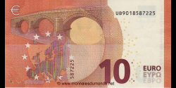 Europe - p21U - 10Euros - 2014 - Banque Centrale Européenne