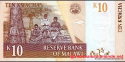 Malawi - p51a - 10 Kwacha - 01.06.2004 - Reserve Bank of Malawi
