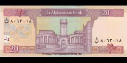 Afghanistan - p68c - 20 Afghanis - SH 1383 (2004) - Da Afghanistan Bank