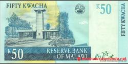 Malawi - p53c - 50 Kwacha - 31.10.2007 - Reserve Bank of Malawi