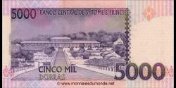 São Tomé-et-Príncipe - p65d - 5.000 Dobras - 31.12.2013 - Banco Central de S. Tomé e Príncipe